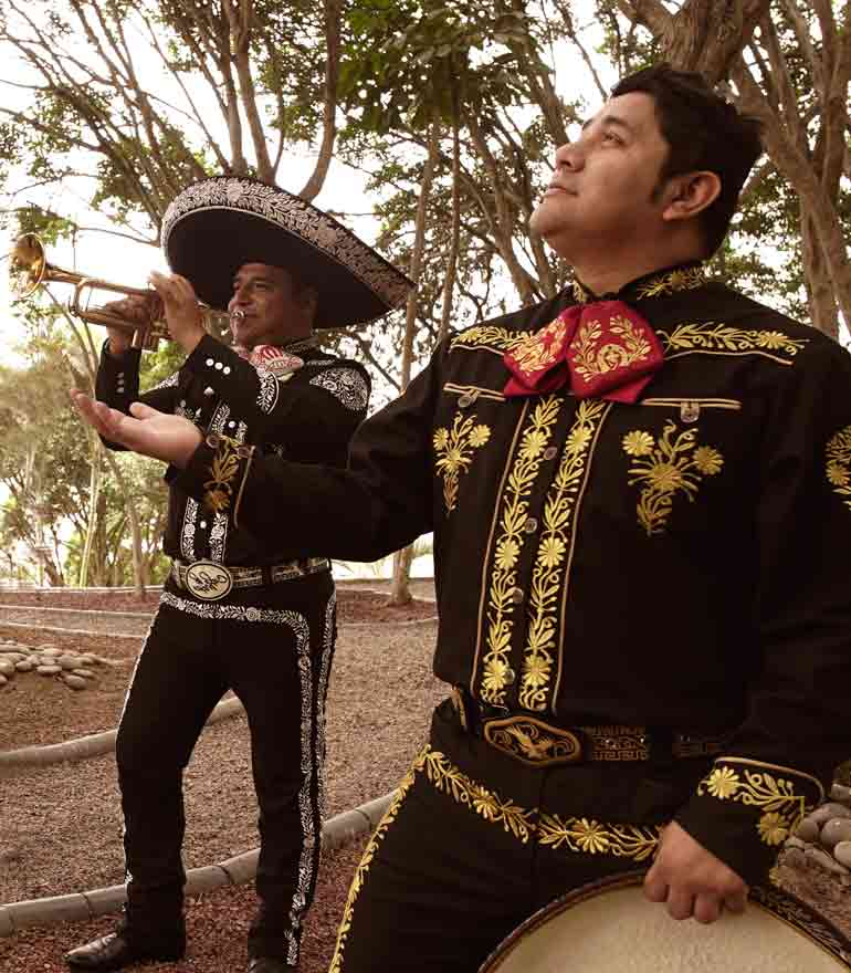 Mariachis en Lima, Mariachis para serenatas